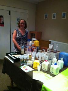 Alison at Come and Try Aloe Event