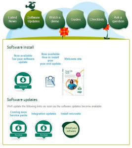 Sage Payroll Website