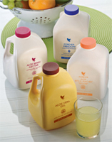 Aloe Drinking Gels come in 4 flavours.