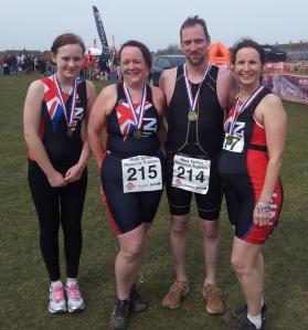 Super Sprint Triathlon Medals