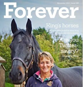 Mary King on the Cover of Forever Magazine