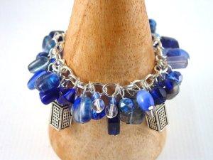 Dr Who Inspired Charm Bracelet - Blue Charm Bracelet